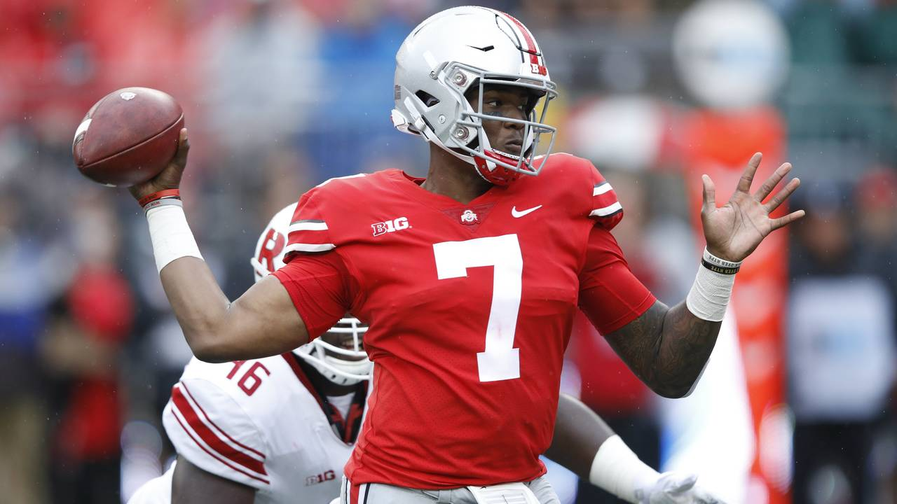 Dwayne Haskins Ohio State football 2018