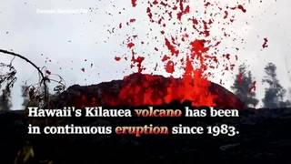 Here's some facts about Hawaii's Kilauea volcano