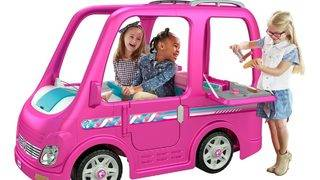 Fisher-Price recalls Barbie Campers due to injury hazard