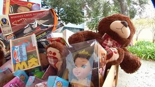 PHOTOS: Channel 4's annual Toy Drive