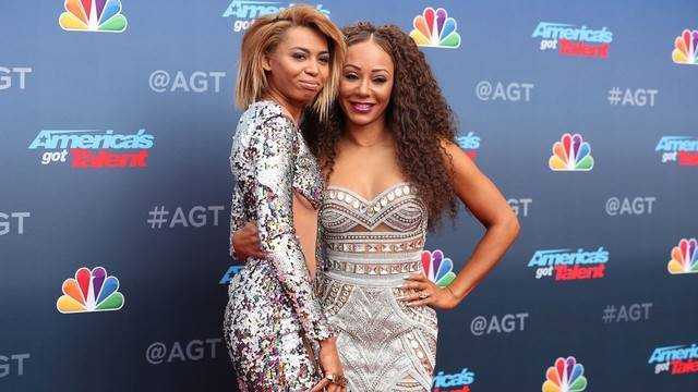Mel B and 19-Year-Old Daughter Phoenix Hit 'AGT' Red Carpet in Matching  Mini-Dresses