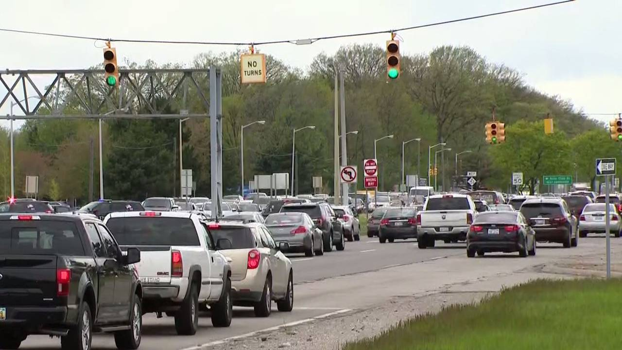 dearborn ford road traffic