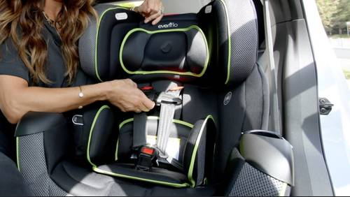 Where you can get a car seat check this week