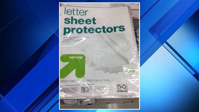 Letter Sheet Protectors