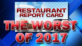 South Florida restaurants with the most violations in 2017