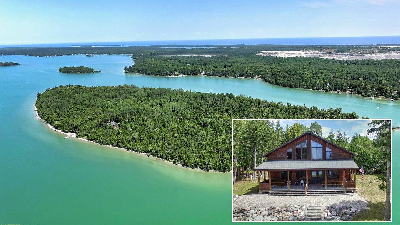 Bidding Opens For Private Michigan Island Starting At 250k