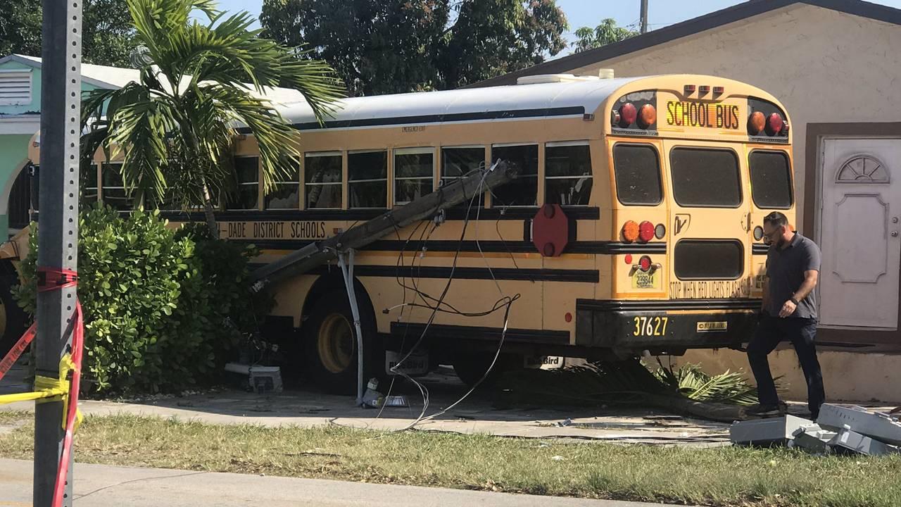 Coral Way bus crash 03-19-2019 2