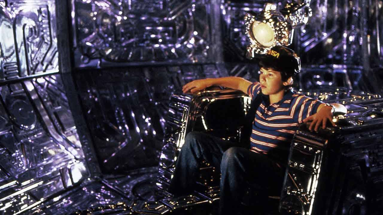 Joey Cramer in 'Flight of the Navigator' 1986