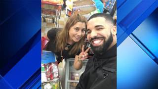Drake donates to women's shelter, buys people groceries