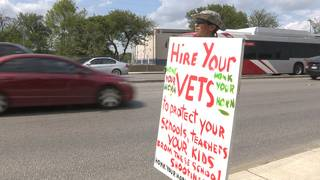 Army veteran proposes having fellow service members protect local schools