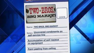'Pure and sheer anger' from Two Bros. BBQ owner after failed health inspection