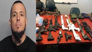Large cache of weapons found at Miami Beach home, police say