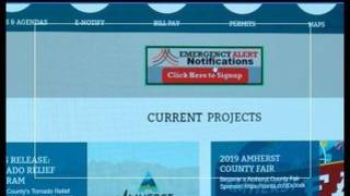 Amherst County launches emergency alert system