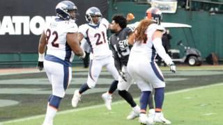 Fight between Raiders' Michael Crabtree, Broncos' Aqib Talib leads to&hellip&#x3b;
