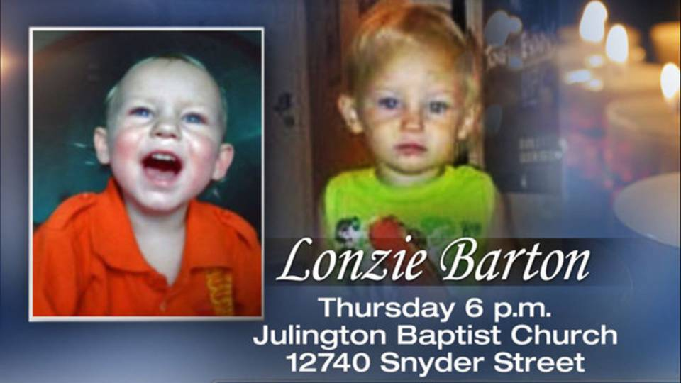 Vigil for Lonzie Barton
