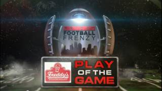 Friday Football Frenzy Play of the Game presented by Freddy's