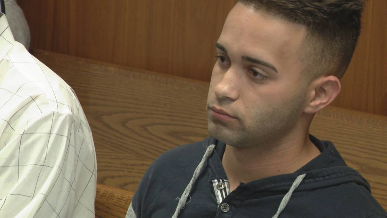 Roberto Hernandez sits in court after pleading guilty to animal cruelty