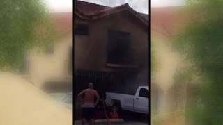 Man sets home on fire after dispute with live-in girlfriend, Hialeah police say