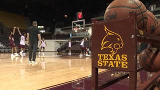 Texas State Men's Basketball bounces back for an 84-74 Victory at Arkansas State