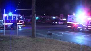 Pedestrian hospitalized in East Side hit-and-run