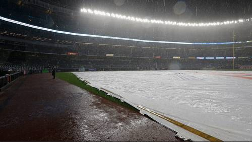 Could ALCS Game 4 between Astros, Yankees be rained out?