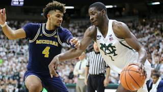 Wagner scores 27, Michigan beats No. 4 Michigan State 82-72