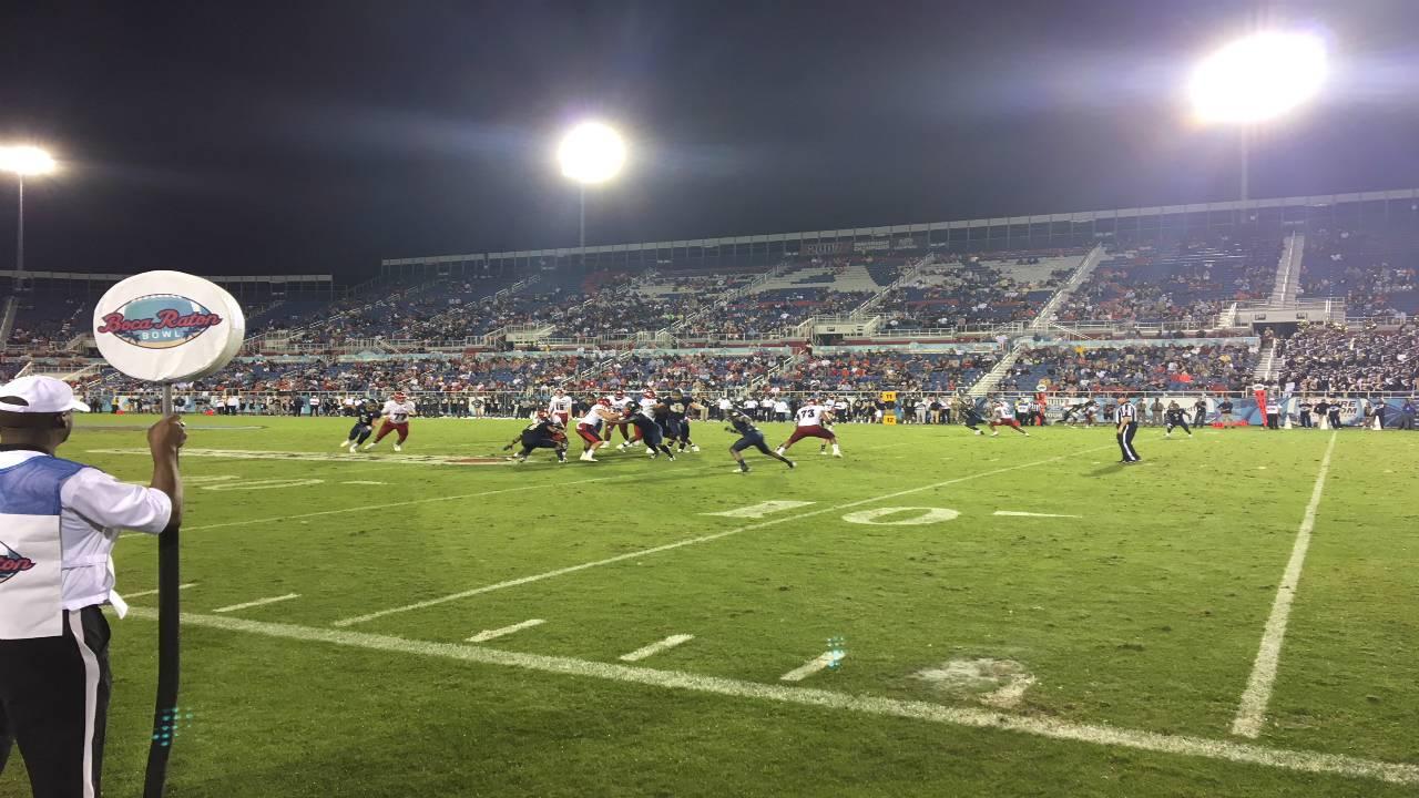 FAU Owls vs. Akron Zips in 2017 Boca Raton Bowl