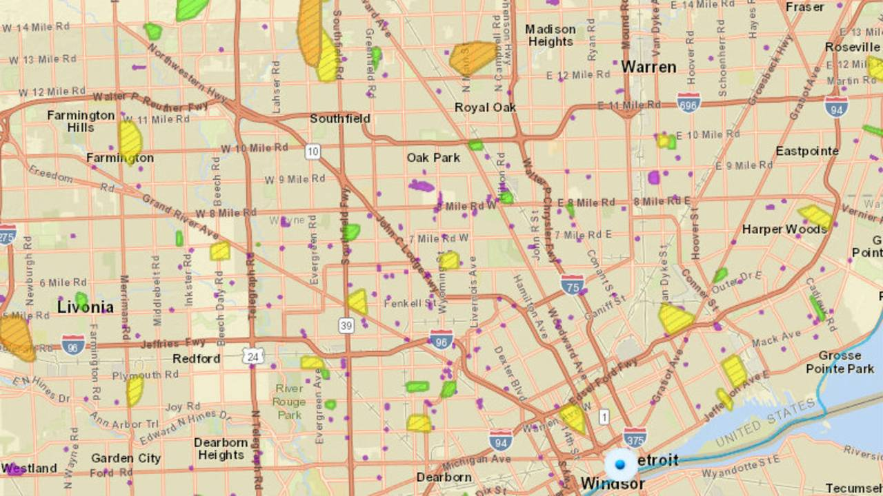 DTE Energy outage map: Here\'s how to check it