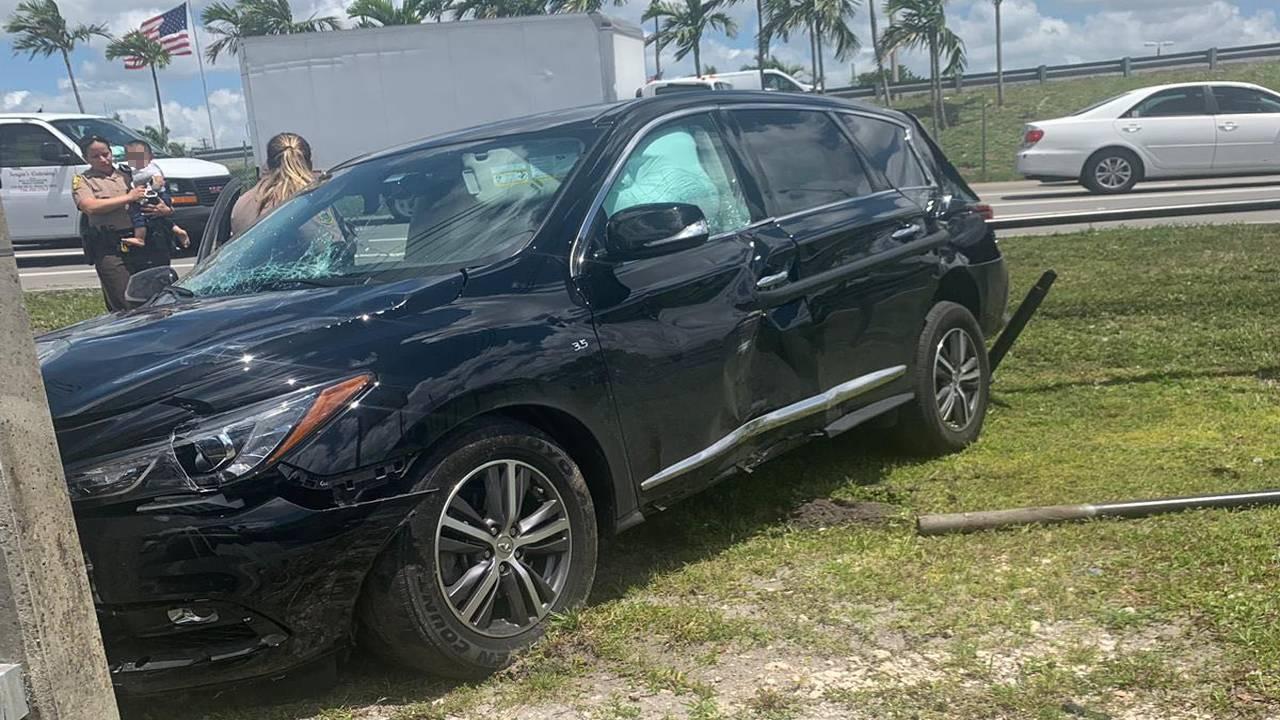 baby found in stolen SUV