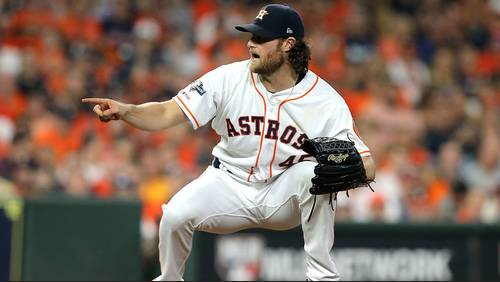 This is who will start World Series Games 1-3 for the Astros
