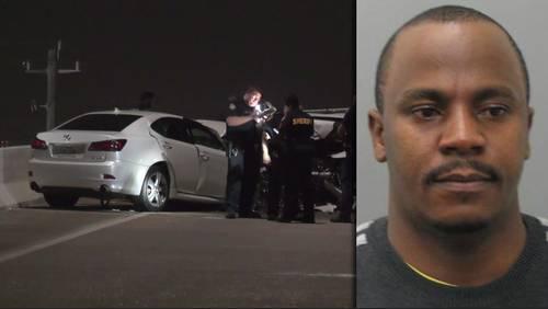 Man in custody killed, 2 deputies injured in Westpark Tollway wrong-way crash
