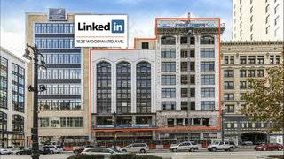 LinkedIn to open office in Downtown Detroit's historic Sanders building