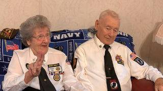Married WWII veterans together since 1946