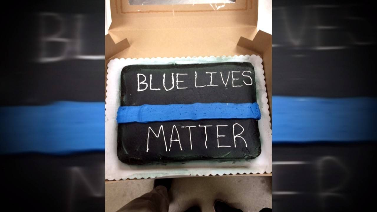 Walmart Refuses To Make Blue Lives Matter Cake For Retiring Cop