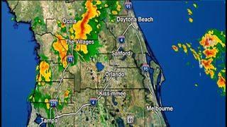 LIVE RADAR: More rain falls in Orlando area