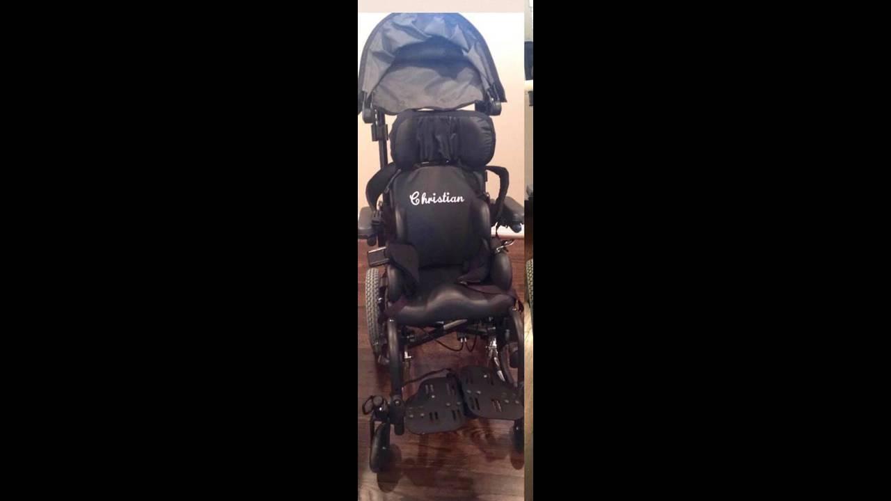 Wheelchair of Christian Gonzalez6-25-2019
