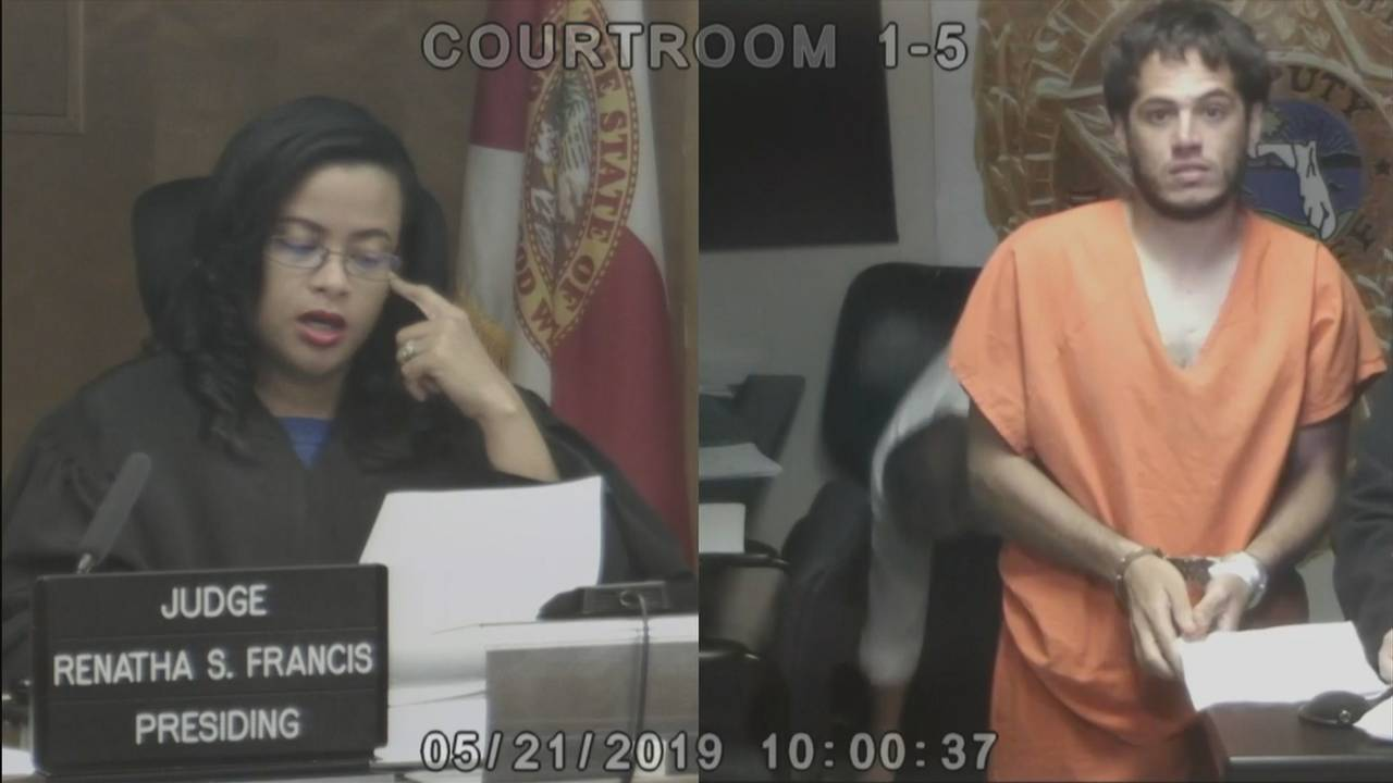 Brandyn Hernandez in bond court
