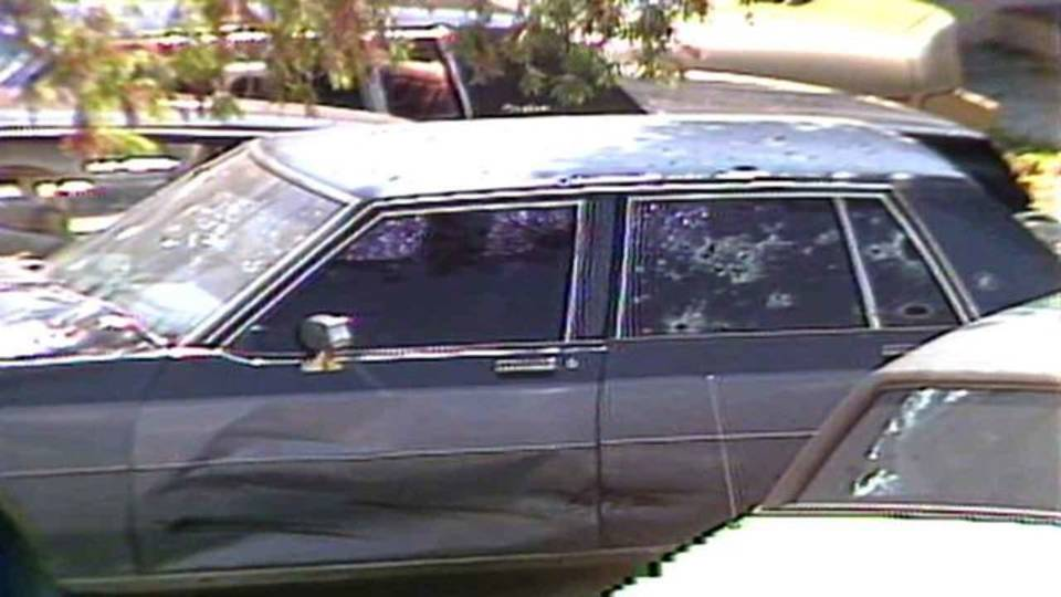 Chevrolet Monte Carlo driven by suspects during 1986 Suniland FBI shootout