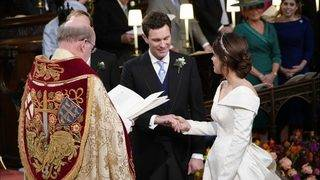 Princess Eugenie's royal wedding a star-studded affair
