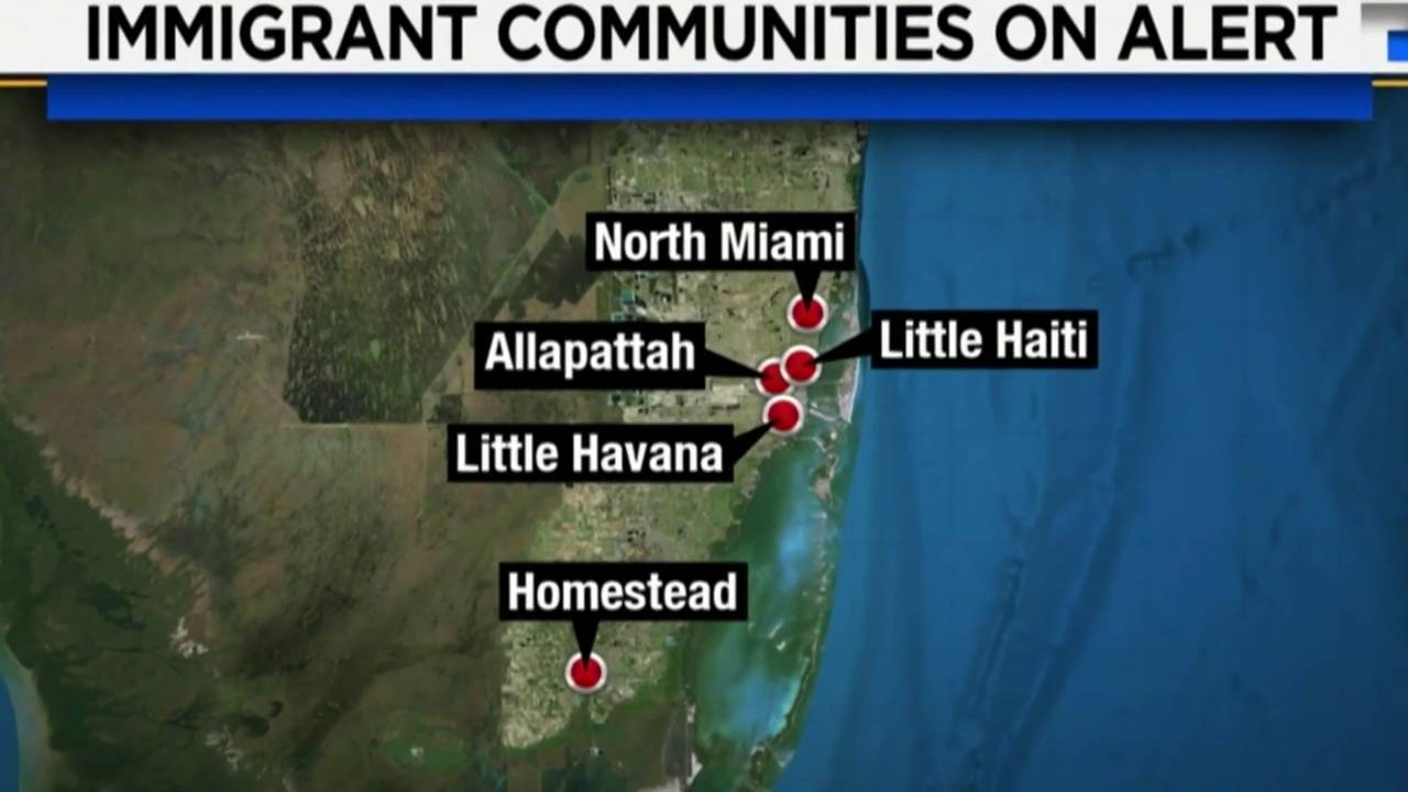 Immigrant communities on alert