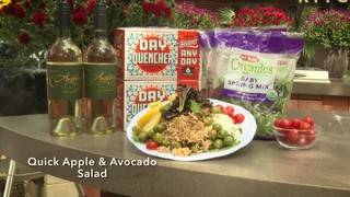 H-E-B Backyard Kitchen: Quick Apple Avocado Salad