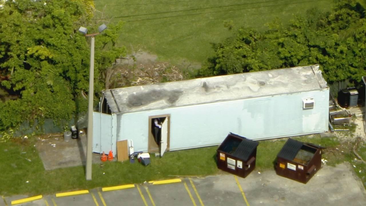 Storage trailer where carnival worker's body found