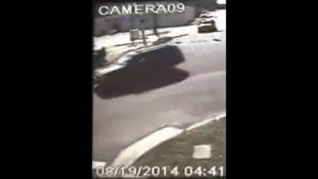 Surveillance video of hit-and-run on Main Street_27640426