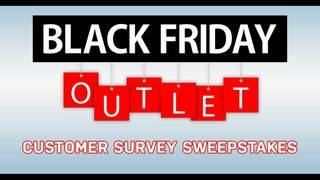 Black Friday Furniture Outlet Survey Sweepstakes