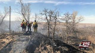 SAFD firefighters join other crews to fight Texas wildfires