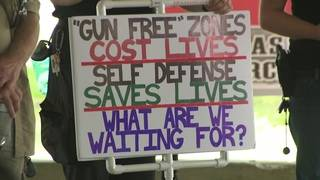 Dozens gather at gun rally in Santa Fe to find solutions for school safety