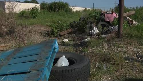 SE Houston street becoming popular site for illegal dumping