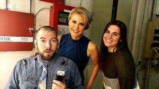 Local 4 producer loses bet - shaves head
