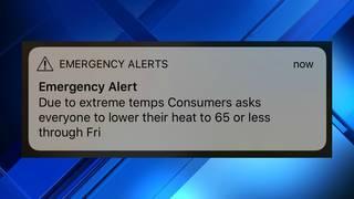 Michigan Gov  Whitmer uses emergency alert system to ask