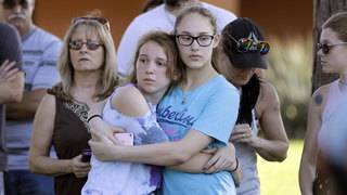Most mass school shootings happen in small-town America